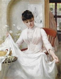 the wedding dress by thomas benjamin kennington