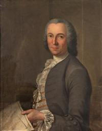 portrait d'architecte by jacques andré joseph aved