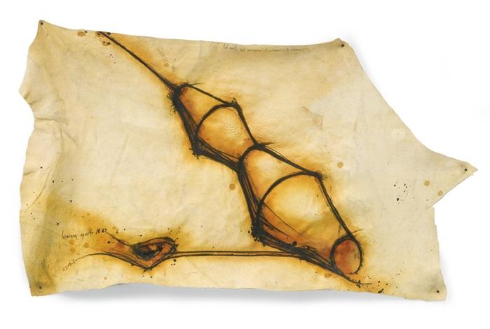 nel ventre del compasso il vulcano è la colonna by gilberto zorio