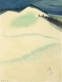 lapin dans les dunes by léon spilliaert