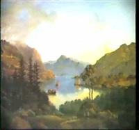 norsk fjordparti by carl anton saabye