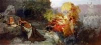 the temptation of st. jerome by henryk siemiradzki