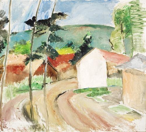 road to heidelberg by george russell drysdale