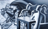 pony tales by mark kostabi