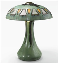 table lamp by fulper pottery