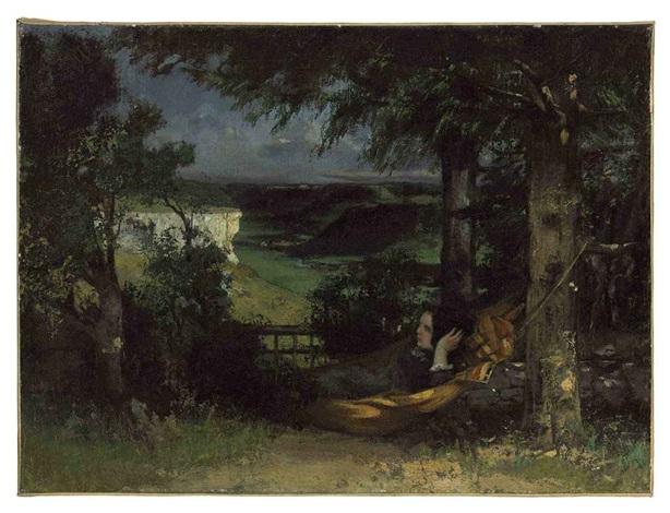 On Hamac Un Gustave Courbet Marise Artnet Wey Dans By Nwm8vn0