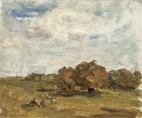 haystacks, howth by nathaniel hone the younger