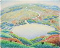 paesaggio umbro by gerardo dottori
