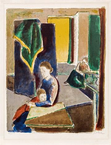 atelier mit paravent by joseph floch