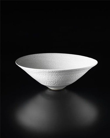 large conical bowl by lucie rie