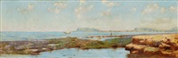 fishing boat in the bay of palermo by eremino kremp