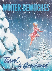 winter bewitches/travel by greyhound by rod ruth
