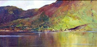leenane in county galway, ireland by henry mclaughlin