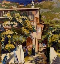paysage d'italie by vladimir ivanovitch valentsov