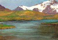 lago di montagna by leonardo roda