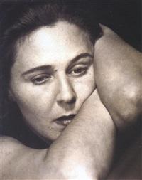 portrait de sa maîtresse mia riegler, vienne by franz senkinc