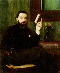 portrait de p. seguin-berthault by paul renaudot
