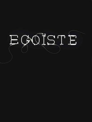 egoiste by sylvie fleury