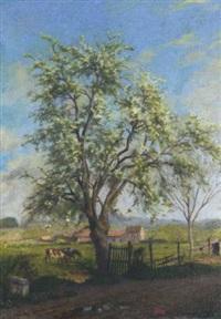 arbres au printemps by charles-jean agard