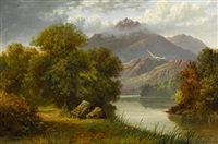 view of the white mountains, new hampshire by samuel lancaster gerry