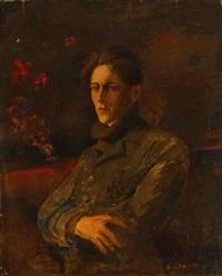 portrait de militaire by arthur chaplin