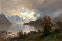 fjordlandskap by joachim frich