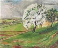 paysage de campagne by paul poiret