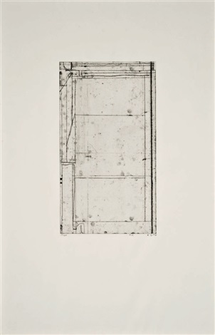 six softground etchings (6 works) by richard diebenkorn