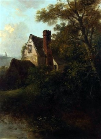 a suffolk farmstead by edward robert smythe