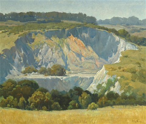 quarry near spring valley lakes by percy gray