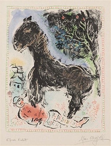colt by marc chagall