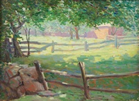 fence by george a. renouard