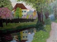 villa am fluss by jakob koganowsky