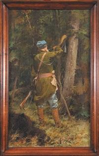 wojski z rogiem by kazimierz alchimowicz