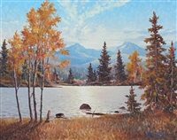 near canmore by duncan mackinnon crockford