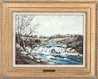 country stream by clifton a. wheeler