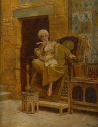 l'écrivain public (orientaliste) by o. haanen