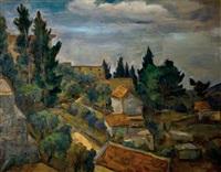 landscape in galilee by leo kahn