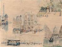 vues de paris by georges rose