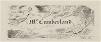 george cumberland's visiting card and bookplate by william blake