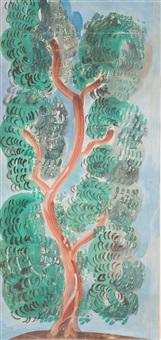 arbre en fleurs by raoul dufy