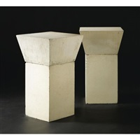 untitled - a pair of tables by scott burton