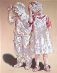 children's portrait #3 by guo jin