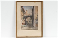 näkymä roomasta - vy från rom by johan jacob ahrenberg