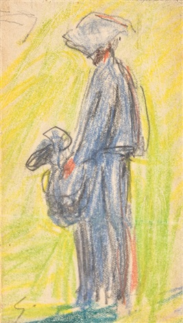 paysanne by alfred sisley