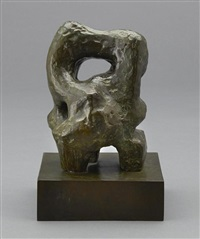 sculptural form by henry moore