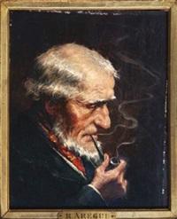 l'homme à la pipe by roman arregui