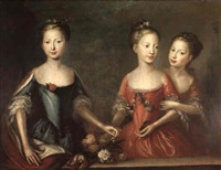 the three daughters of george i by martin maingaud