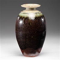 stunning baluster vase by richard batterham