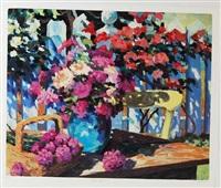 garden flower by julian askins